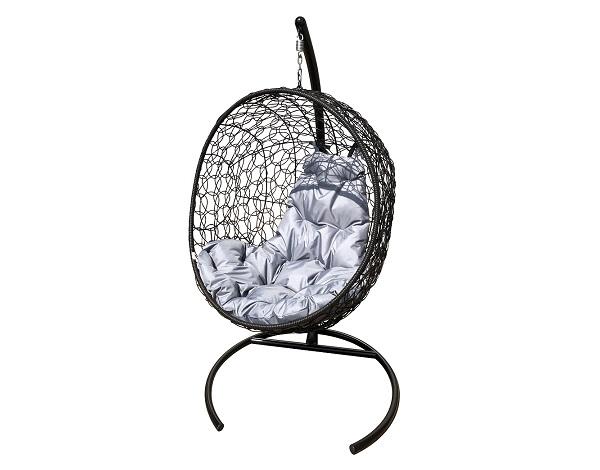 """Подвесные кресла """"Луна"""" с ротангом"""